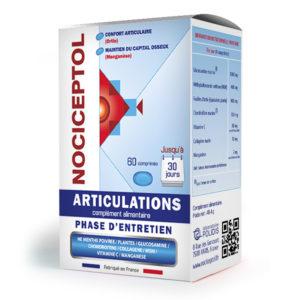 boite de Nociceptol phase d'entretien